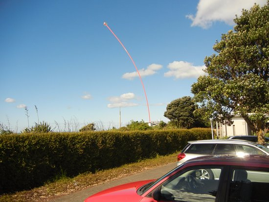 New Plymouth, New Zealand: The wand