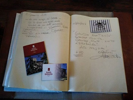 Castello Cortevecchio: libro raccolta recensioni