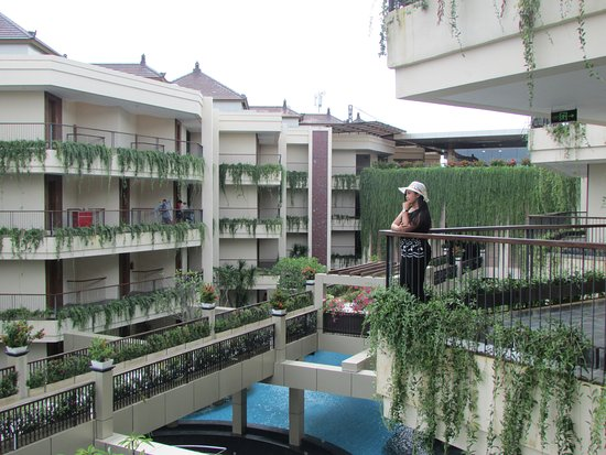VOUK Hotel & Suites: Enjoy my day with green view