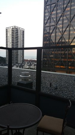 Club Quarters Hotel in San Francisco: outside patio of the Suite