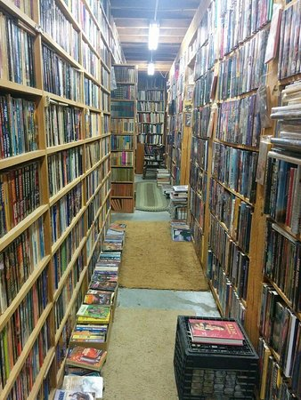 Henniker, NH : First floor is a maze of books