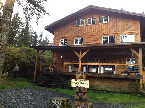 Afognak Wilderness Lodge: Staff bunk house