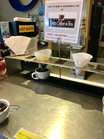 Petaluma, CA: Make your own cup of coffee