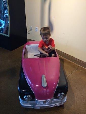 Saint Joseph, MI: little car my boy played in