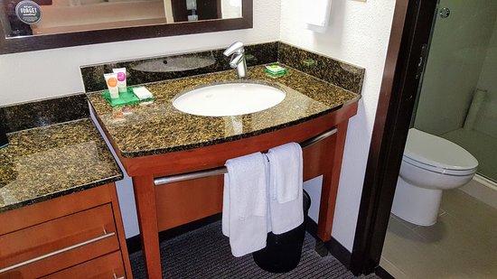 Hyatt Place Orlando Airport: Bathroom