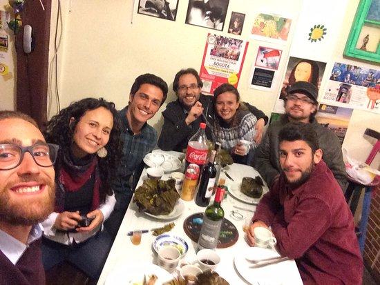 Sayta Hostal: Une superbe souvenir de cette soirée de noel !!!
