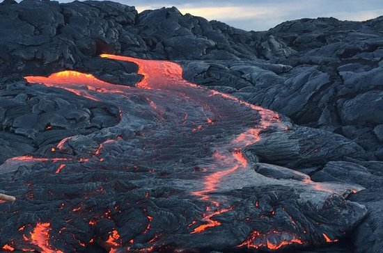 Extreme Lava Hike to See Flowing Lava