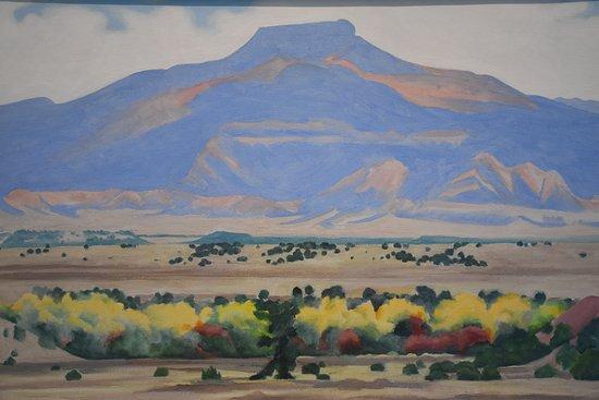 Georgia O'Keeffe Museum: O' Keeffe Painting