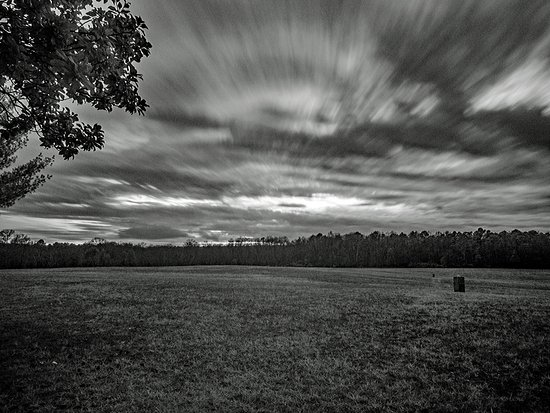 Fort Oglethorpe, Géorgie : Clouds over Chickamaga