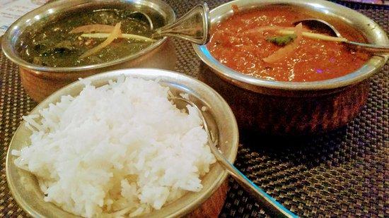 Yonkers, NY: Andhra Chicken Curry , Nilgiri Chicken & Basmati Rice
