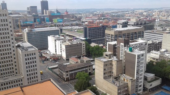 Braamfontein, Южная Африка: Areal view of Joburg!