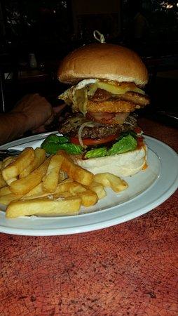 Ballandean, Australia: hamburger