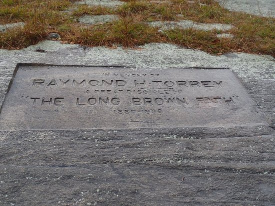 Fort Lee, NJ: Raymond Torrey Memorial on Long Mountain, along the Long Path, Harriman State Park 2