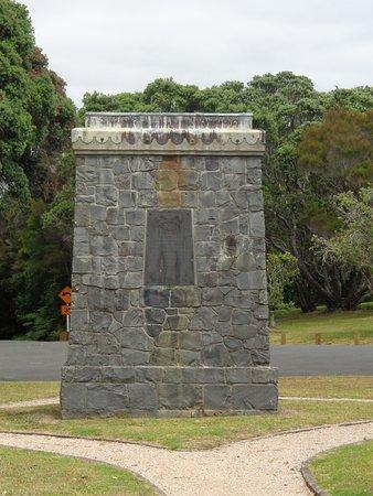Paihia, New Zealand: Hobson Memorial