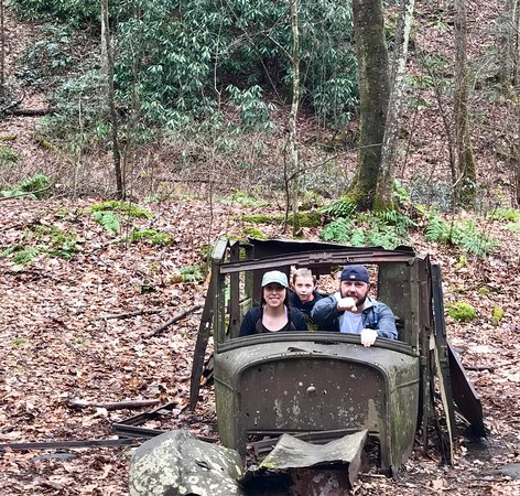 Townsend, TN: Middle Prong Trail to Indian Flats Falls 1/15/17