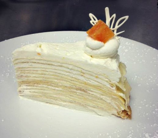 Penn Valley, CA: Grand Marnier Crepe Cake