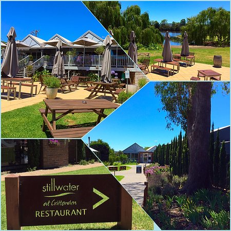 Dromana, Αυστραλία: Restaurant grounds on a beautiful summer afternoon!