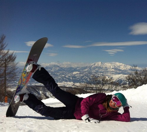 Nozawaonsen-mura, Japan: Side-plank Pose - Skyline Course in Nozawa Onsen