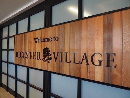 entrance of bicester village