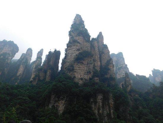 Tianzi Mountain: The nice clift 2