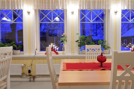 Savonlinna, Finland: Dining room