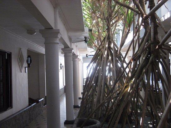 Nippon Villa Beach Resort: Внутренний дворик