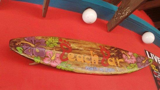 Ponta do Ouro, Mozambik: Beach bar