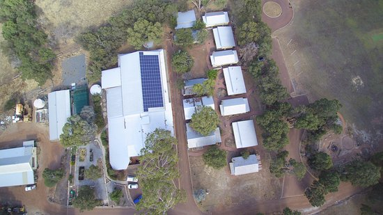 Pinjarra, Australia: Indoor Basketball / Volleyball court and classrooms. Solar PV installed by Solargain.