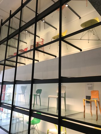 A history of 20th century chair designs. - Picture of PMQ, Hong Kong ...