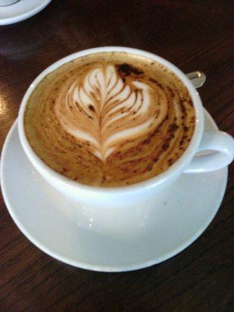 Maynooth, Irlandia: cappuccino! :)