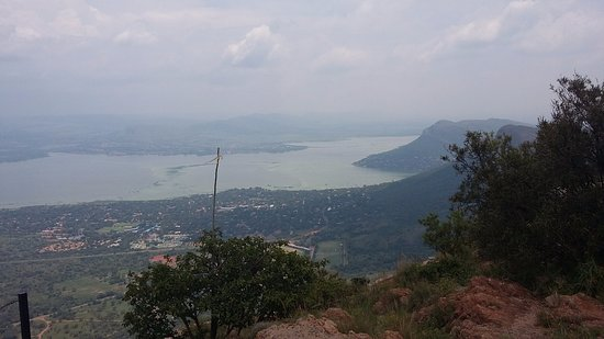 Hartbeespoort, South Africa: the amazing views from on top of the mountain.