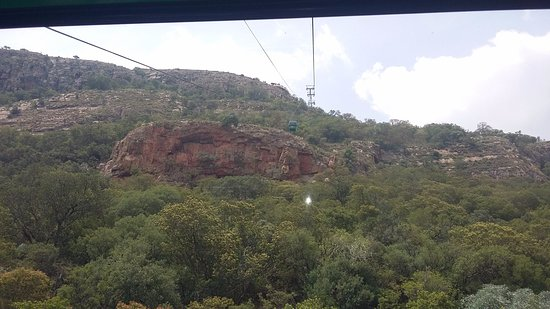 Hartbeespoort, South Africa: on the way up the mountain