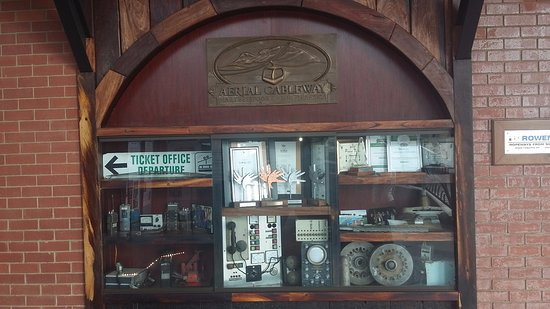 Hartbeespoort, South Africa: abit of history of the cable way equipment from the old days.