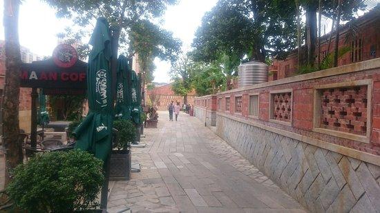"""Jinjiang, China: Maan Coffee in """"wu Dianshi"""" historical place in Quangzhou city"""