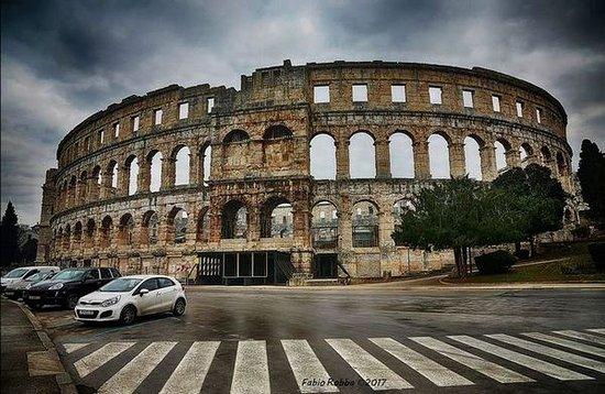 Амфитеатр Пулы: Pola (Pula) - The Roman Arena
