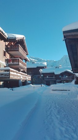 La Rosiere, France: Hiver 2016-2017- Neige