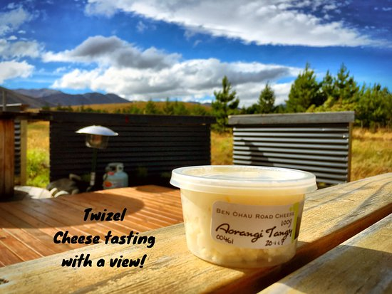 Cheese shop, Twizel.