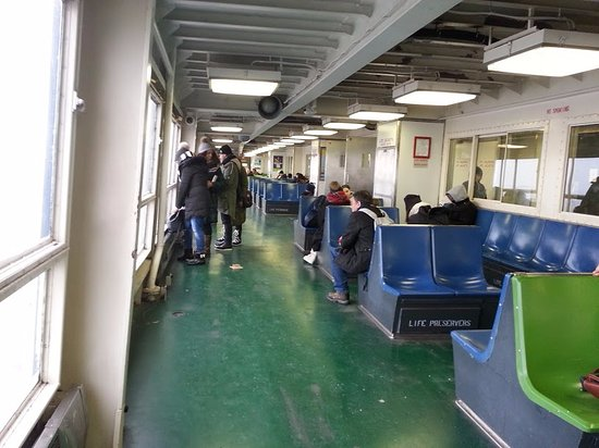 inside the ferry picture of staten island ferry new york city tripadvisor. Black Bedroom Furniture Sets. Home Design Ideas