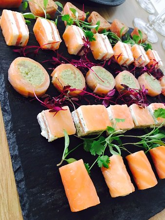 Heaven Scent: Canapes for private event