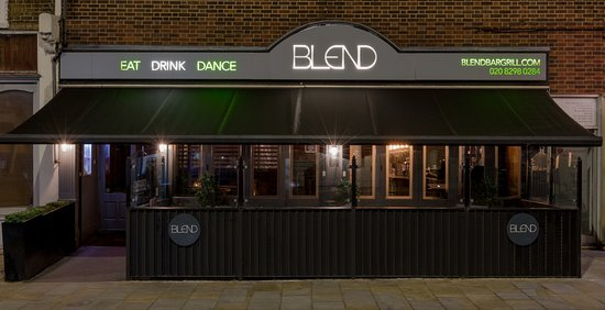 Бекслихит, UK: Blend Bar & Grill