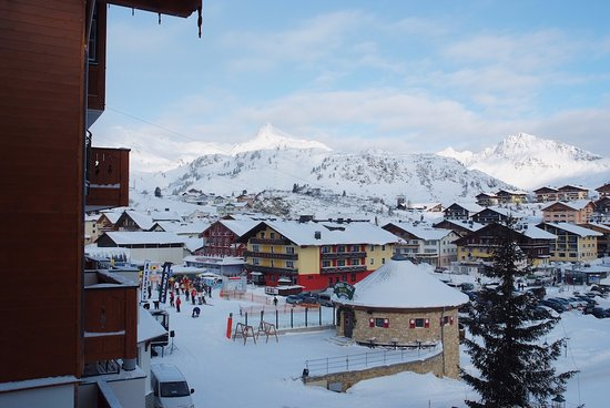 Obertauern, Austria: View from the room balcony