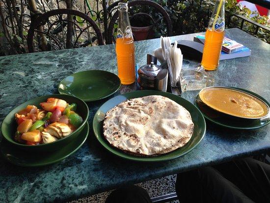 Hotel Potala: Best veg momos in town!