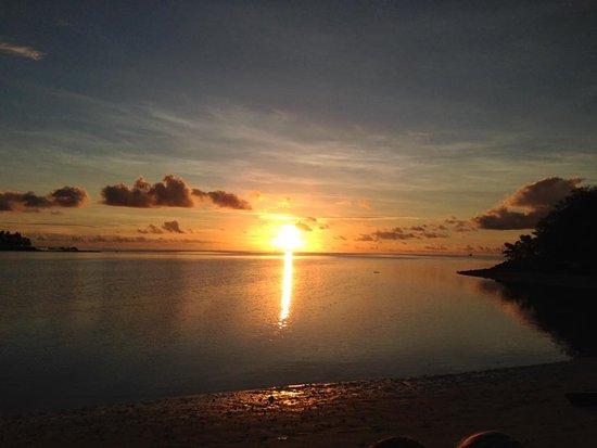 Musket Cove Island Resort: Musket Cove sunset