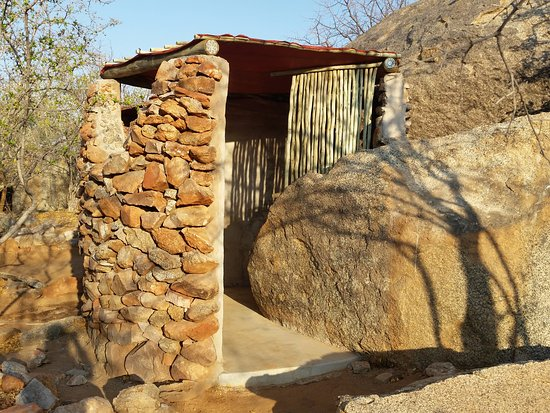 Kamanjab, Namibia: Shower
