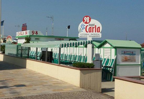 Mare, sole e tranquillità - Recensioni su Bagni Carla 98, Riccione ...