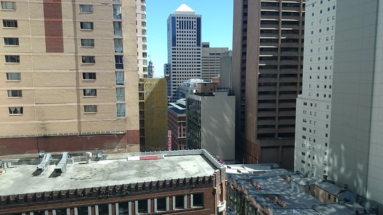Ibis Sydney World Square: View from room looking south towards Central railway station