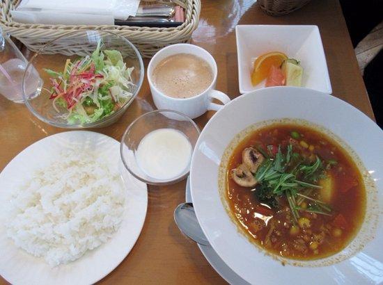 Hokkaido Hotel : 選べる朝食 スープカレー