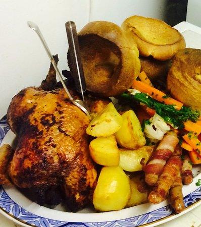Framlingham, UK: Whole Shared chicken