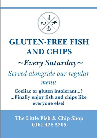 Cheadle, UK: We want EVERYONE to be able to enjoy our food!