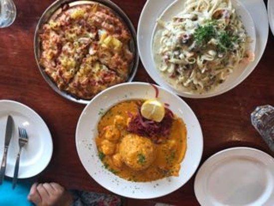Sofia Pizza Restaurant: Pizza nya enak banget